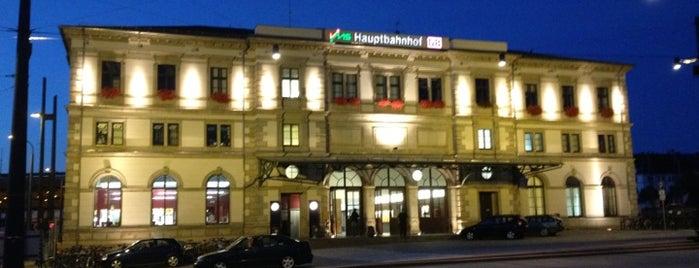 Chemnitz Hauptbahnhof is one of C & anderes Sachsen.