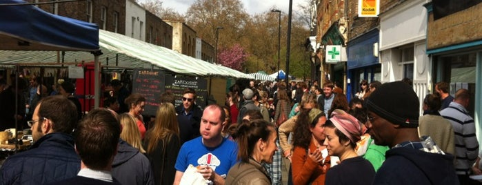 Broadway Market is one of London markets.