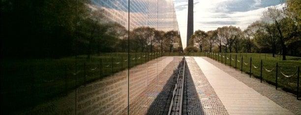 Vietnam Veterans Memorial is one of December in DC.