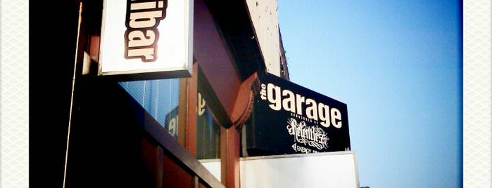 The Garage is one of Live Venues.