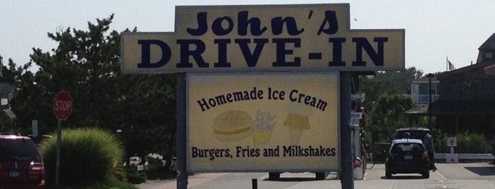 John's Drive-In is one of Montauk, NY.
