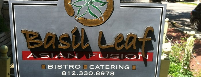 Basil Leaf is one of B-town = Food Town!.