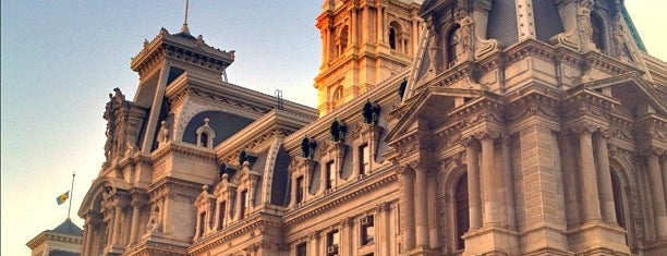 Philadelphia City Hall is one of Philly Favorites.