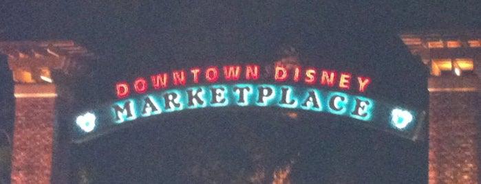 Disney Springs Marketplace is one of Walt Disney World.