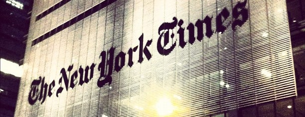 The New York Times Building is one of Nueva York y Washington.