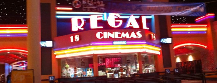 Regal Cinemas Arbor Place 18 & IMAX is one of favorites.