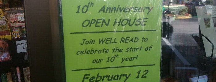 Well Read Bookstore & Gallery is one of Destination: 17th Street.