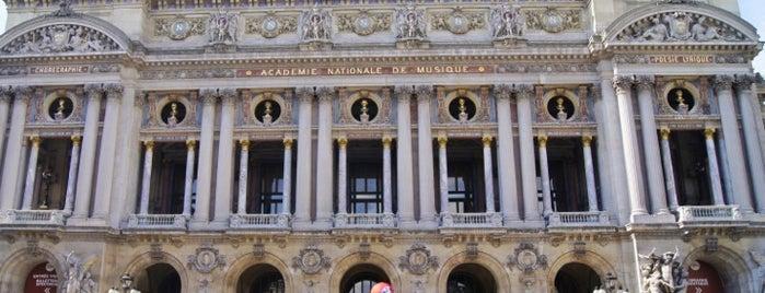 Garnier Opera is one of Paris must see.