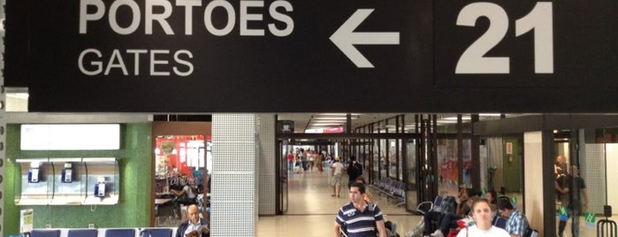 Portão 21 is one of Aeroporto de Guarulhos (GRU Airport).