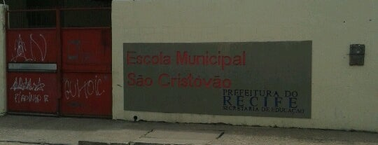 Escola Sao Cristovao is one of Meus lugares.