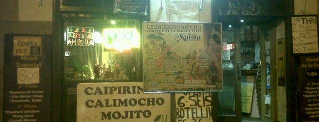 Restaurante Indio Maisha is one of Restaurantes/Bares que me simpatizan.