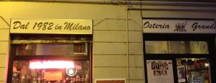 Osteria alla Grande is one of Weekend a Milano.