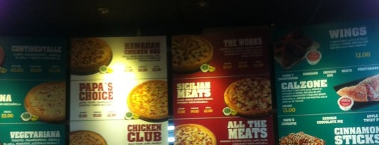 Papa John's is one of Chatarra... yesss.