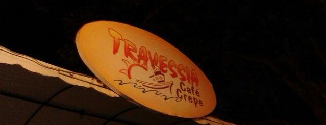 Travessia Café Crepe is one of Cafet./Padarias/Sorveterias.