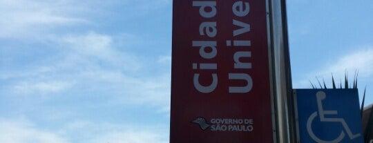 Estação Cidade Universitária (CPTM) is one of Transporte.