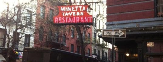 Minetta Tavern is one of Rob's NYC Eats & Sleeps.