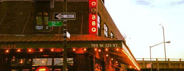 Dinosaur Bar-B-Que is one of Harlem Livin'.