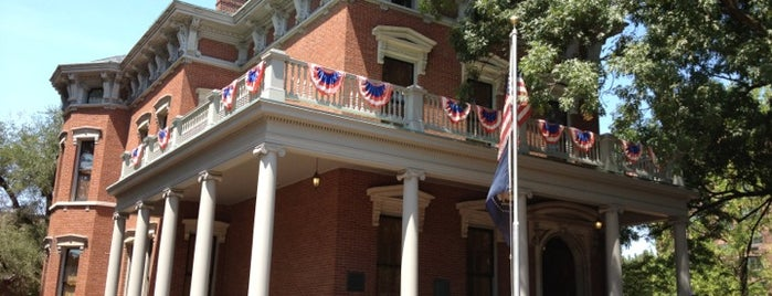 Benjamin Harrison Presidential Home is one of Historian.