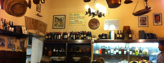 Trattoria Da Lucia is one of Roma - a must! = Peter's Fav's.