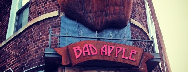 The Bad Apple is one of The 15 Best Places for Burgers in Chicago.