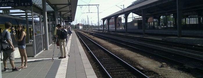 Bahnhof Frankfurt (Oder) is one of Bahnhöfe DB.