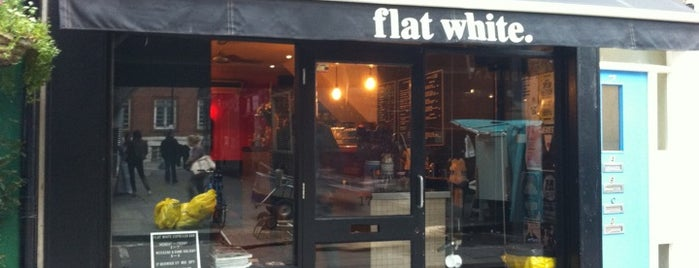 Flat White is one of London as a local.