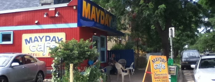 May Day Cafe is one of Eric's Hangouts.