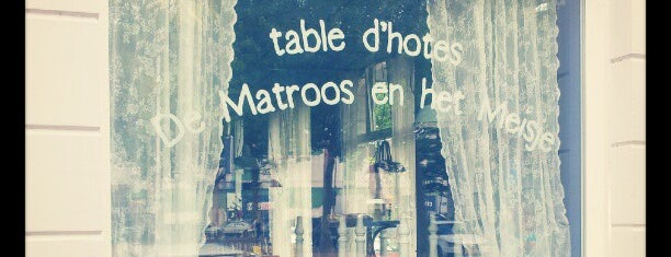 Restaurant De Matroos en het Meisje is one of placestobe.