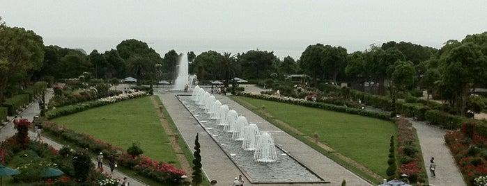 Suma Rikyu Park is one of 日本の都市公園100選.
