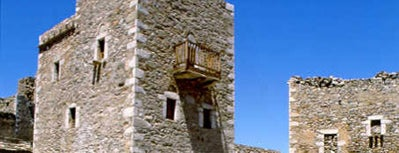 Vathia is one of Tower towns in Greece.