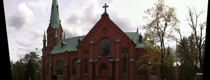 Aleksanterin kirkko is one of Churches of Tampere.