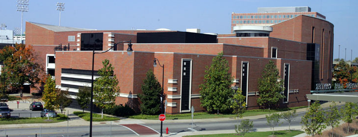 Memorial Gymnasium is one of Commencement 2012.