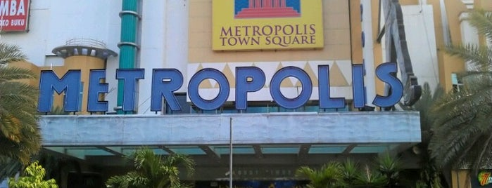 Metropolis Town Square is one of mall alam sutera.