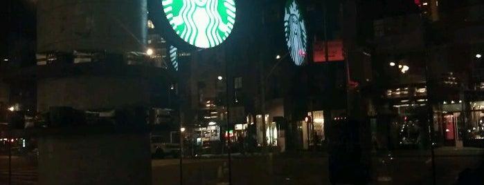 Starbucks is one of Starbucks around NYC.