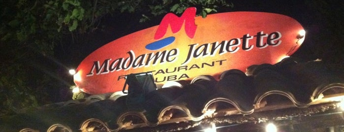Madame Janette is one of Aruba.