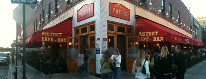 Pastis is one of New York 2012.
