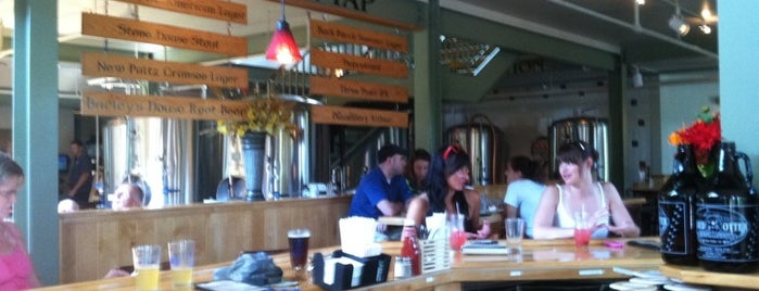 Gilded Otter Brewing Company is one of New Paltz Faves.
