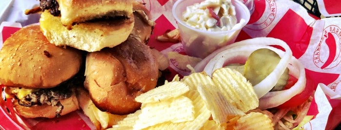 Charlie & Barney's Bar & Grill is one of A foodie's paradise! ~ Indy.