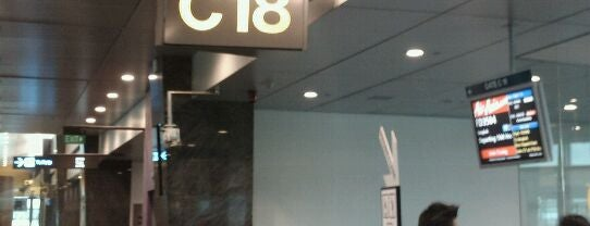 Gate C18 is one of SIN Airport Gates.