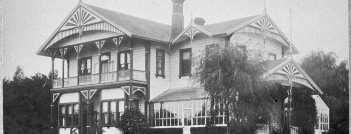 Caccia Birch House is one of Palmerston North City Heritage Trail.