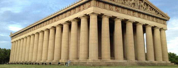 The Parthenon is one of To Do: Nashville.