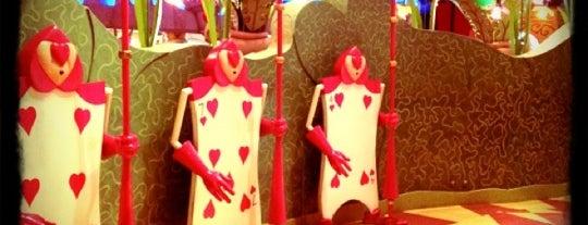 Queen of Hearts Banquet Hall is one of Disney.