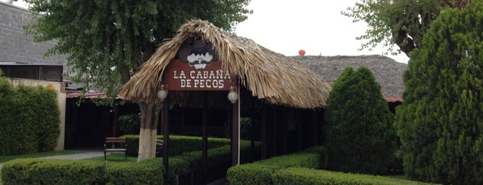 La Cabaña de Pecos is one of a probar.