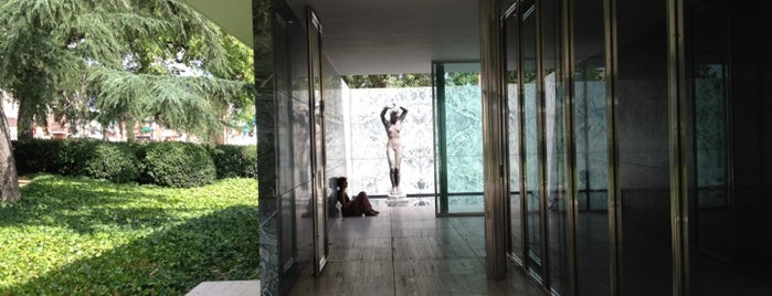 Mies van der Rohe Pavilion is one of Barcelona : Museums & Art Galleries.