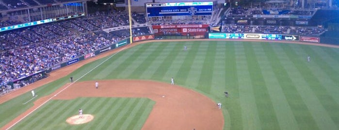 Kauffman Stadium is one of Great Sport Locations Across United States.