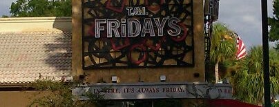 TGI Fridays is one of Places to Eat in Lake Mary/ Heathrow Area.