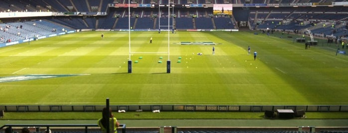 Murrayfield Stadium is one of STA Travel Edinburgh Good Eats and Culture Treats.