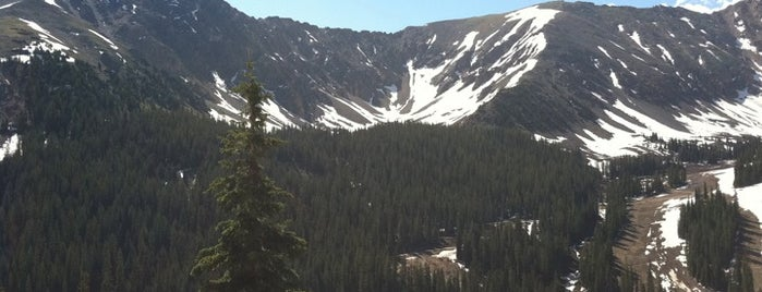 Loveland Pass is one of Stunning Views Around the World by Nokia.