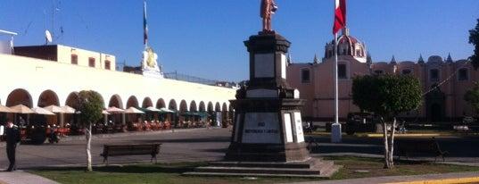 Plaza de la Concordia (Zócalo) is one of Puebla #4sqCities.