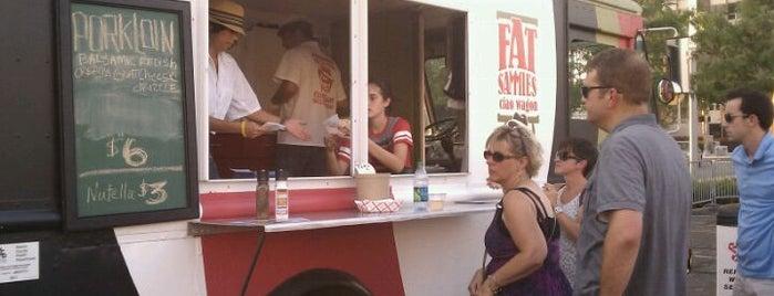Fat Sammies Ciao Wagon is one of Food trucks! Yay!.